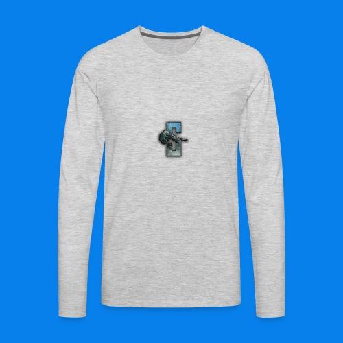 Speedy Logo 2 - Men's Premium Long Sleeve T-Shirt