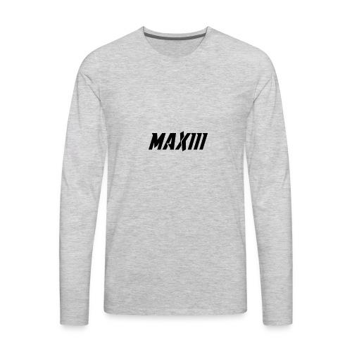 Maxiii Official Shirt Logo! - Men's Premium Long Sleeve T-Shirt