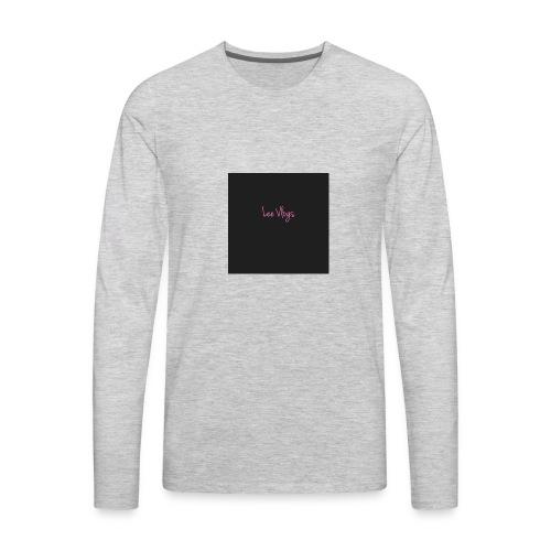 1 Lee - Men's Premium Long Sleeve T-Shirt
