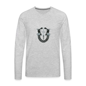 SF Crest - Men's Premium Long Sleeve T-Shirt