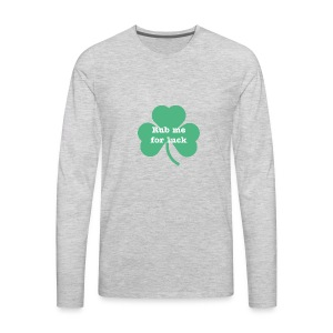 Rub me for luck - Men's Premium Long Sleeve T-Shirt
