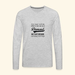 Diamond - Men's Premium Long Sleeve T-Shirt