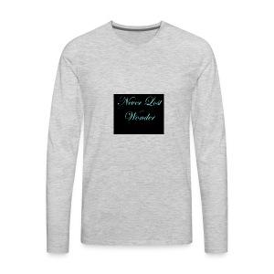 Never Lost Wonder - Men's Premium Long Sleeve T-Shirt