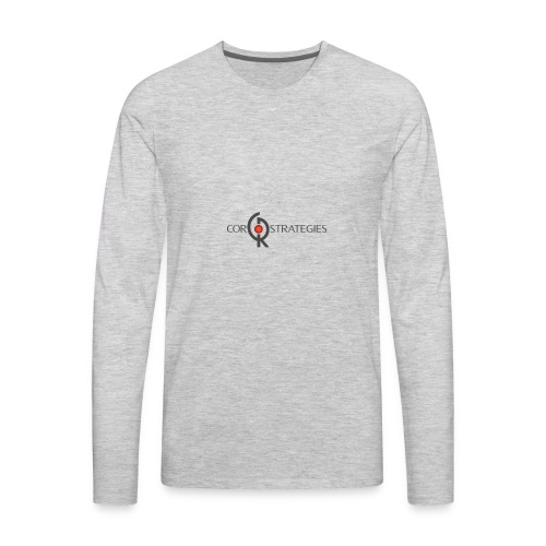 HiRez CorLogo - Men's Premium Long Sleeve T-Shirt