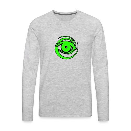 Astro Photography Tutorials Logo - Men's Premium Long Sleeve T-Shirt