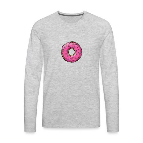 Simpsons Donut Shirts - Men's Premium Long Sleeve T-Shirt