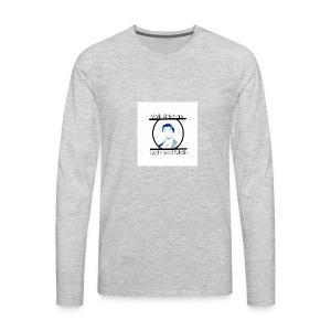 Technical Malik Logo - Men's Premium Long Sleeve T-Shirt