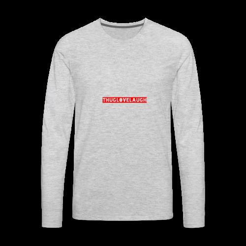 Name Tags - Men's Premium Long Sleeve T-Shirt
