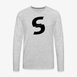 SurGe Logo - Men's Premium Long Sleeve T-Shirt