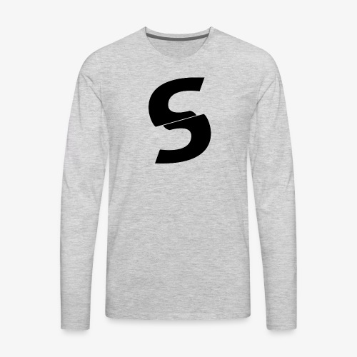 SurGe Logo - Men's Premium Long Sleeve T-Shirt