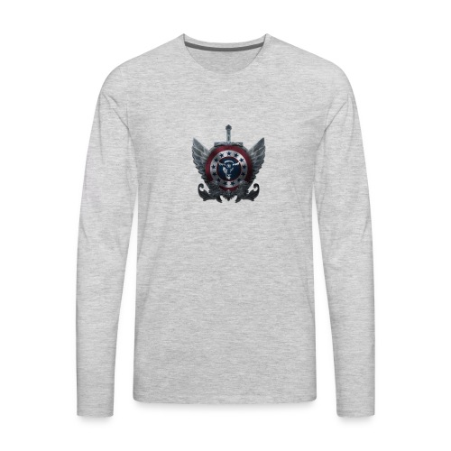 Guardians of America - Small Logo - Men's Premium Long Sleeve T-Shirt