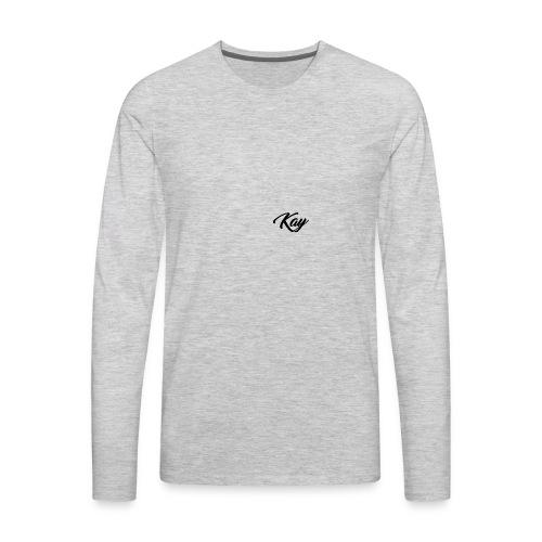 Kay Hoodie - Men's Premium Long Sleeve T-Shirt