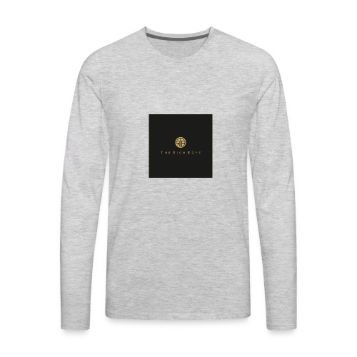 The rich boys embroiderie - Men's Premium Long Sleeve T-Shirt