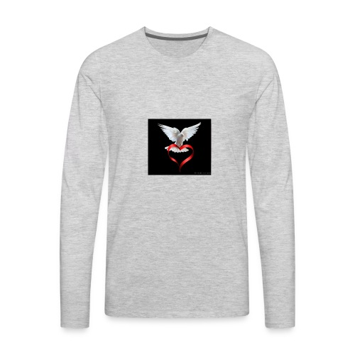 Sign Of Love tvw273 - Men's Premium Long Sleeve T-Shirt