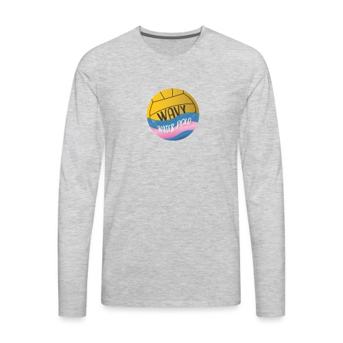 Wavy Water Polo - Men's Premium Long Sleeve T-Shirt