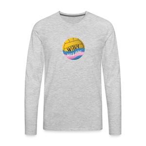 Wavy Water Polo - Men's Premium Long Sleeve T-Shirt