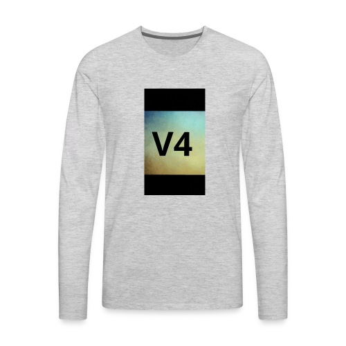 vintage v4 - Men's Premium Long Sleeve T-Shirt
