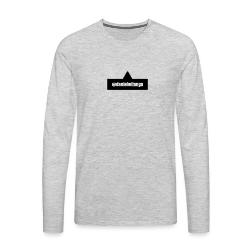 danielwitanga POP TAG - Men's Premium Long Sleeve T-Shirt