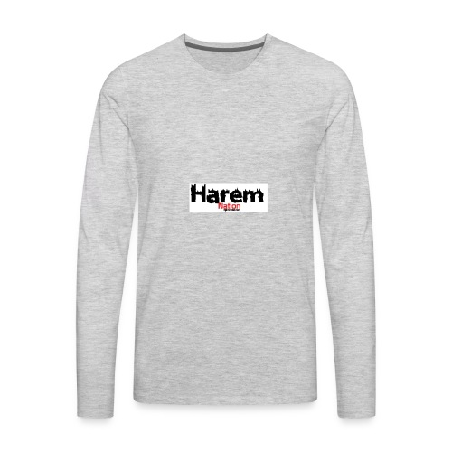 Harem Nation - Men's Premium Long Sleeve T-Shirt