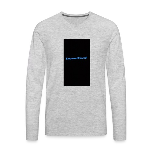Exposedhouse - Men's Premium Long Sleeve T-Shirt