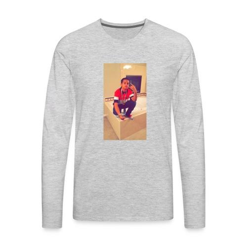 SAVAGE PANDA SWEATER - Men's Premium Long Sleeve T-Shirt