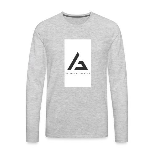AQFAGamer logo - Men's Premium Long Sleeve T-Shirt