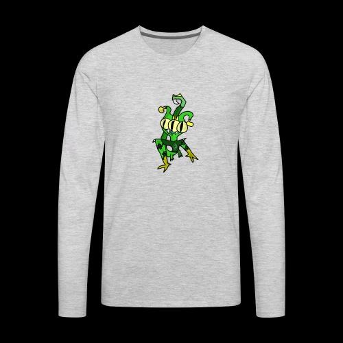 Three-Eyed Alien - Men's Premium Long Sleeve T-Shirt