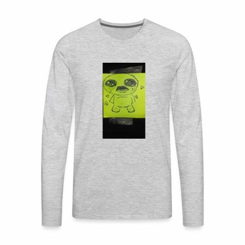 Don't cry - Men's Premium Long Sleeve T-Shirt