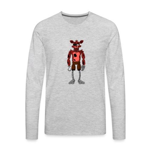 cool foxy 5.0.2 mrech - Men's Premium Long Sleeve T-Shirt