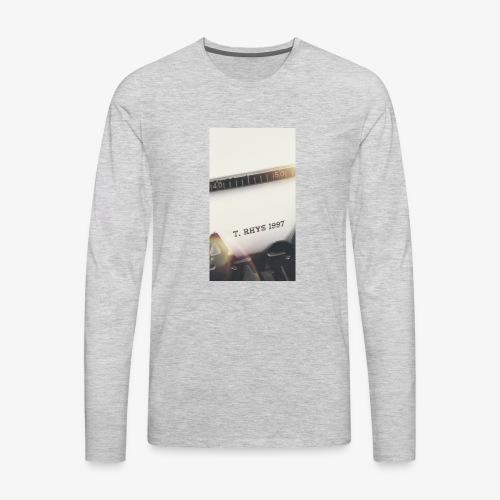 T. Rhys - Men's Premium Long Sleeve T-Shirt