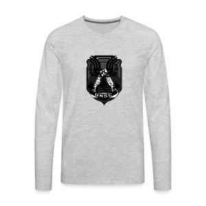 Delta Emblem - Men's Premium Long Sleeve T-Shirt