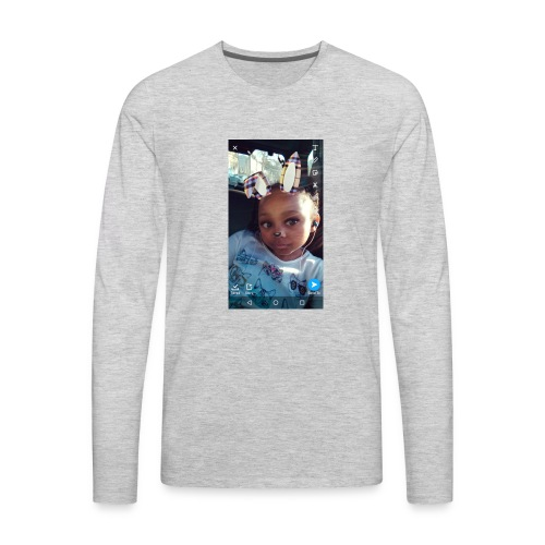 For my group at school that hangs out - Men's Premium Long Sleeve T-Shirt