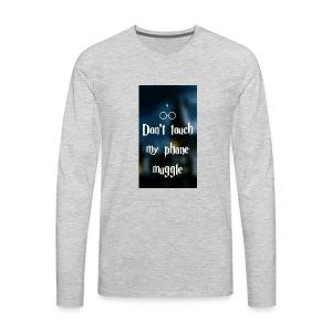 HarryPotter shirt - Men's Premium Long Sleeve T-Shirt