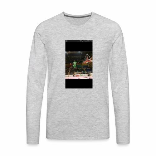 Whit white - Men's Premium Long Sleeve T-Shirt