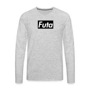Futa Logo - Men's Premium Long Sleeve T-Shirt