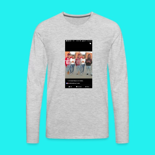 Petty Mona - Men's Premium Long Sleeve T-Shirt