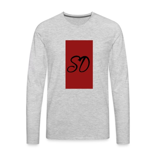 red sd - Men's Premium Long Sleeve T-Shirt