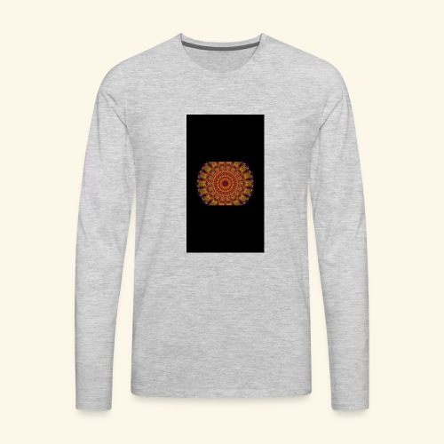 sunset henna - Men's Premium Long Sleeve T-Shirt