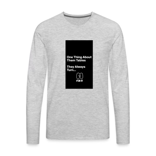 Believe - Men's Premium Long Sleeve T-Shirt