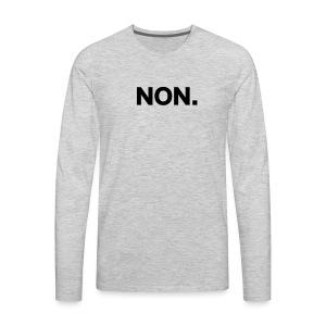 NON - T-shirt Premium à manches longues pour hommes