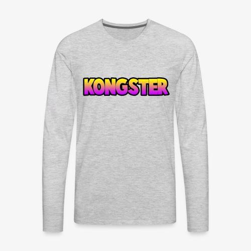 Kongster - Men's Premium Long Sleeve T-Shirt