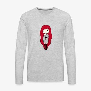 TheLavaGirl - Men's Premium Long Sleeve T-Shirt