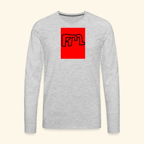 Gray shirts - Men's Premium Long Sleeve T-Shirt