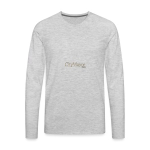 CityMayor Games Logo - Men's Premium Long Sleeve T-Shirt