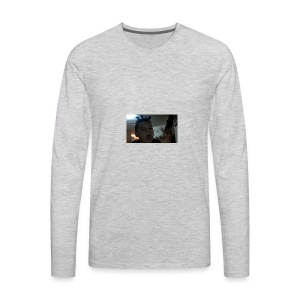 TRIPPIE J face tee-shirt - Men's Premium Long Sleeve T-Shirt