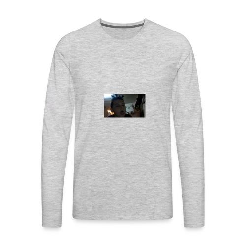 TRIPPIE J face tee-shirt - Men's Premium Long Sleeve T-Shirt