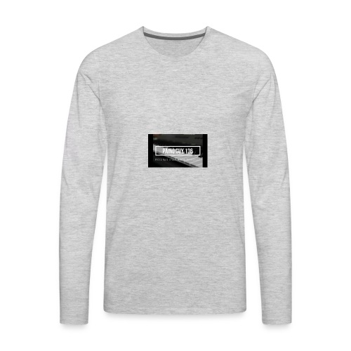 Paino Guy 136 - Men's Premium Long Sleeve T-Shirt