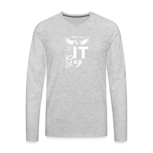 Pretty fly for an it guy - Men's Premium Long Sleeve T-Shirt