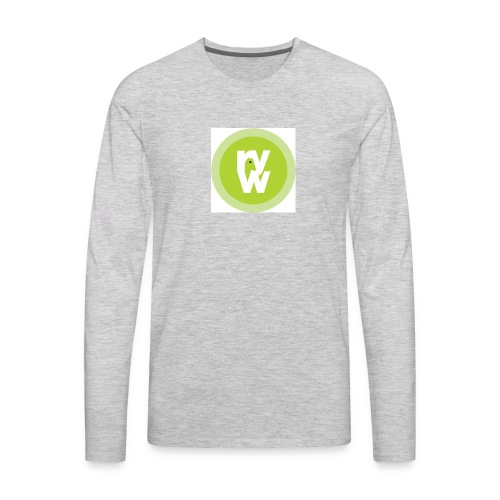 Recover Your Warrior Merch! Walk the talk! - Men's Premium Long Sleeve T-Shirt