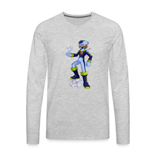 FreezzyMasterMan's Merchandise - Men's Premium Long Sleeve T-Shirt
